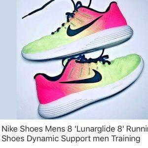 Nike Men's 8 'Lunarglide 8' Running Shoes